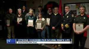 Community members honored in South Milwaukee after saving man's life [Video]