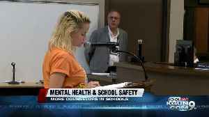 Tucson Unified School Board adopts mental health resolution, aims to tackle student to counselor ratios [Video]