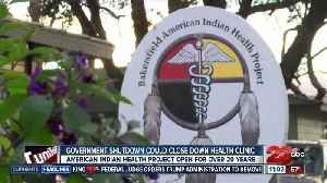 Government shutdown impacts local American Indian health clinic [Video]