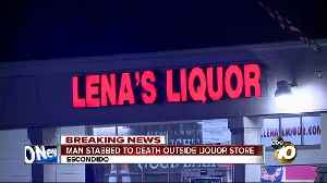 Man stabbed to death during fight outside Escondido liquor store [Video]