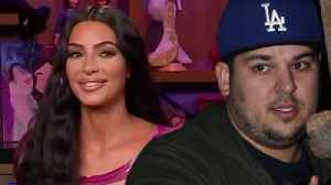 News video: Kim Kardashian CONFIRMS Rob Kardashian Is Making A COMEBACK On KUWTK!