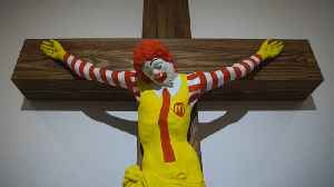 Haifa Museum's 'McJesus' Sculpture Sparks Controversy in Israel [Video]