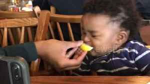 Watch this baby's dramatic reaction to his first lemon [Video]