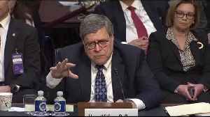 AG nominee Bill Barr to Senate: 'I don't subscribe to this lock her up stuff' on Hillary [Video]