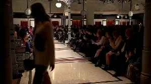 Berlin Fashion Week staple Marc Cain takes to the catwalk [Video]