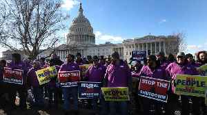 News video: Judge Won't Force The Government To Pay Workers During Shutdown