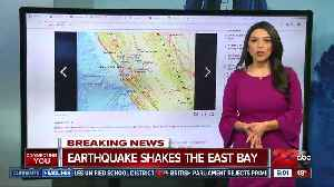 3.4 magnitude earthquake shakes the East Bay [Video]