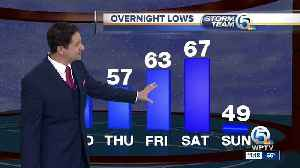 South Florida Wednesday afternoon forecast (1/16/19) [Video]