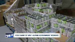 Food Bank of WNY holding special distributions for families impacted by the government shutdown [Video]