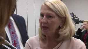 RAW VIDEO | Pam Stewart avoids questions after 1000+ teachers fired for failing state exam [Video]