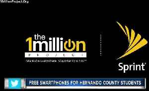 Sprint makes free smartphones available for high school students in Hernando County [Video]