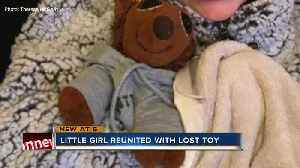 Trolley driver reunites little girl with stuffed animal lost on Anna Maria Island [Video]