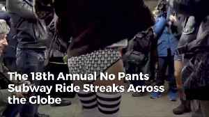 It's Time To Ride The Subway With No Pants Again [Video]