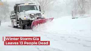 The Latest Winter Storm Killed 13 People [Video]