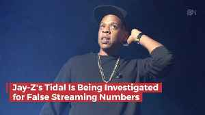Jay-Z Company 'Tidal' Has an Issue With False Streaming Numbers [Video]