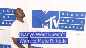 Kanye Supports R. Kelly Until Kim Steps In And Says No [Video]
