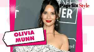 Olivia Munn 'spotted' in this $14K polka-dot look [Video]