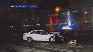 Metra Train Hits Car And Man Saves Senior Citizen From The Wreck [Video]
