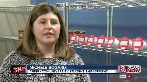 Creighton University opens new food pantry for fellow students [Video]