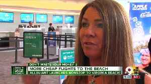 Allegiant to offer more cheap flights to the beach [Video]