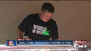Small town dispensaries fighting to open for business [Video]