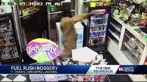 Gas station robbery caught on camera [Video]