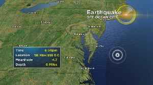 4.7 Magnitude Earthquake Hits Miles Off Ocean City Coast [Video]
