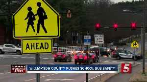 Williamson Co. launches campaign to make school bus stops safer [Video]
