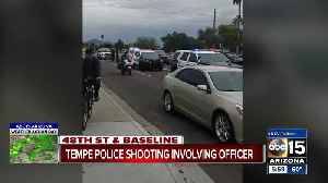 Tempe police involved in shooting Tuesday; suspect killed [Video]
