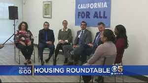 Emotional Housing Rountable Meeting With Gov. Newsom, SJ Mayor Liccardo [Video]
