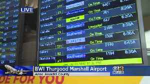 Southwest Says Connectivity Restored At BWI After Outage Causes Major Delays [Video]