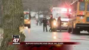 No injuries reported when Lansing school bus hits tree [Video]