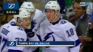 Andrei Vasilevskiy gets 2nd shutout in week, Tampa Bay Lightning top Dallas Stars 2-0 [Video]