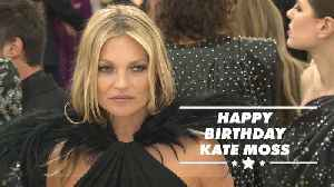 5 Iconic Kate Moss photographs through the years [Video]