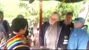"Robert De Niro ""Illustrious Guest"" to Machu Picchu [Video]"