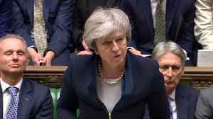 News video: May fights new confidence vote amid Brexit bedlam