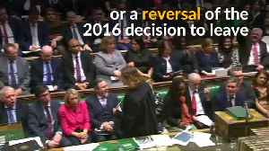 News video: Theresa May suffers historic defeat after parliament rejects Brexit deal