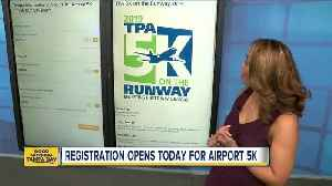 Annual 5K race lets you run wide open runway at Tampa International Airport [Video]