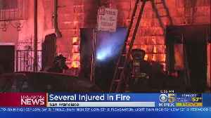 Fire Damages Mission District Homes, Several Injured [Video]