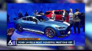 Ford's most powerful Mustang [Video]