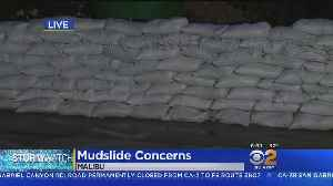 Evacuated Malibu Prepped For Third Round Of Heavy Rain [Video]