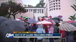 News video: Los Angeles teachers strike enters third day