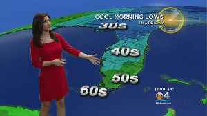 Cool Weather Continues [Video]