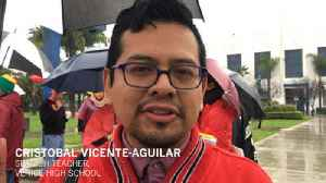 LAUSD teachers' strike: Cristobal Vicente-Aguilar [Video]