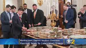 After White House Serves Fast Food, Co-Owner Of Alinea Invites Clemson Football Team To Dinner [Video]