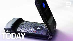 Motorola is reportedly reviving the RAZR as a foldable phone  | Engadget Today [Video]