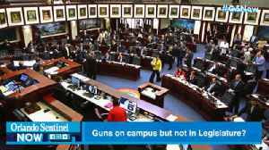 Once again, Florida legislators want guns on campus, but banned near them | Commentary [Video]
