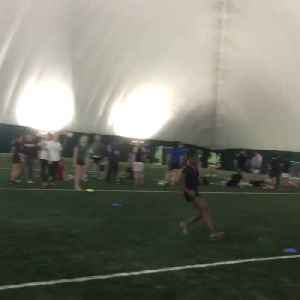 Women's Track and Field Team Do Speed Drills [Video]