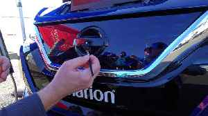 Clarion demos self-cleaning technology at CES 2019 [Video]