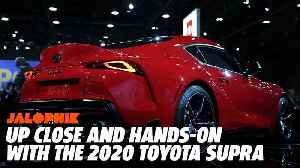 Up Close and Hands on With the 2020 Toyota Supra | Jalopnik [Video]